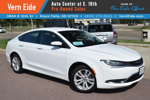 2015 Chrysler 200 for sale in Sioux Falls SD
