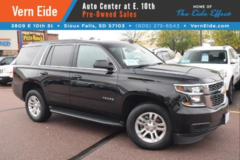 2016 Chevrolet Tahoe for sale in Sioux Falls SD