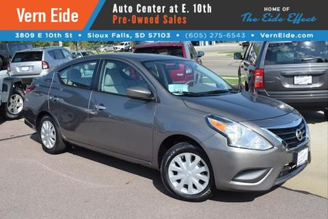 2016 Nissan Versa for sale in Sioux Falls SD
