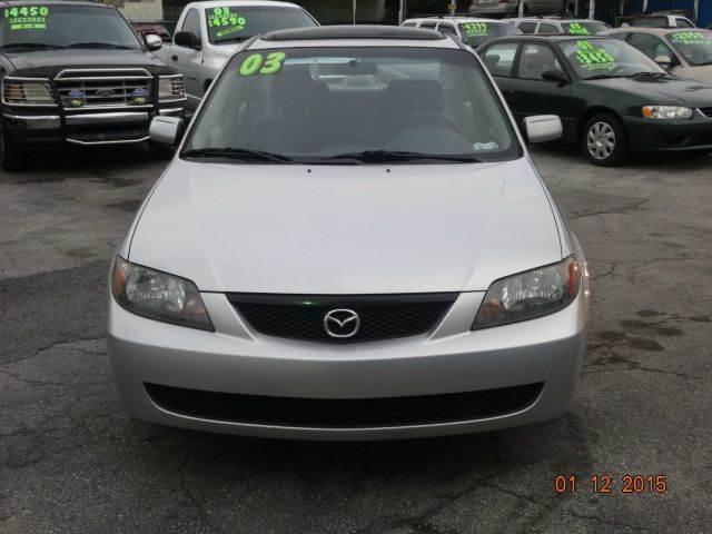 2003 Mazda Protege ES 4dr Sedan   Miami FL