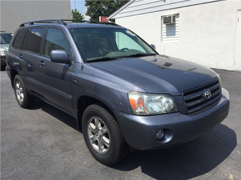 2005 Toyota Highlander for sale in Norristown, PA