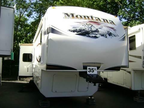2012 Keystone Montana Hickory 3582RL