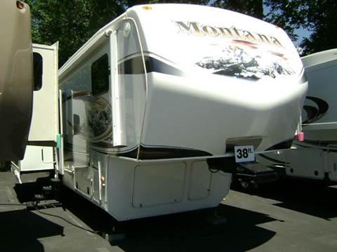 2012 Keystone Montana Hickory 3582RL / 38ft