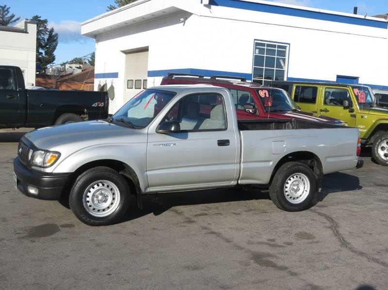2002 toyota tacoma regular cab 2wd in concord nh price. Black Bedroom Furniture Sets. Home Design Ideas