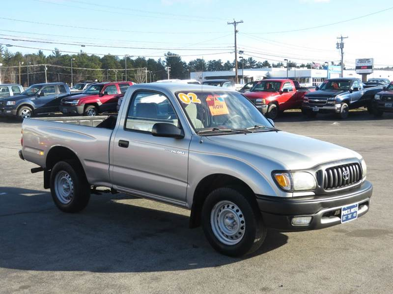 2002 toyota tacoma regular cab 2wd in concord nh price auto sales. Black Bedroom Furniture Sets. Home Design Ideas