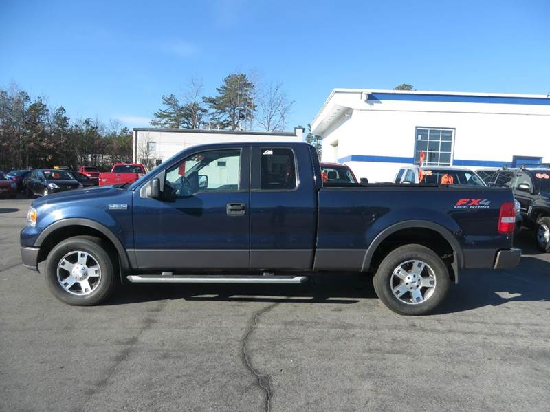 2005 ford f 150 fx4 4dr supercab fx4 4wd styleside 5 5 ft sb in concord nh price auto sales. Black Bedroom Furniture Sets. Home Design Ideas