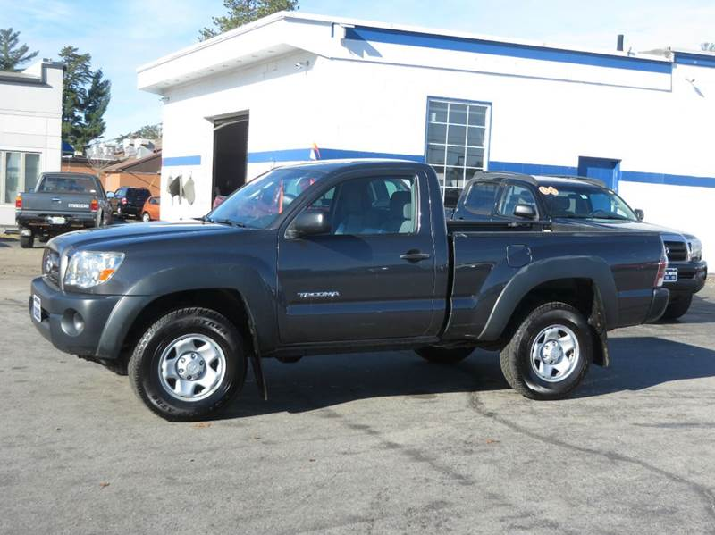 2009 toyota tacoma regular cab 4wd in concord nh price. Black Bedroom Furniture Sets. Home Design Ideas
