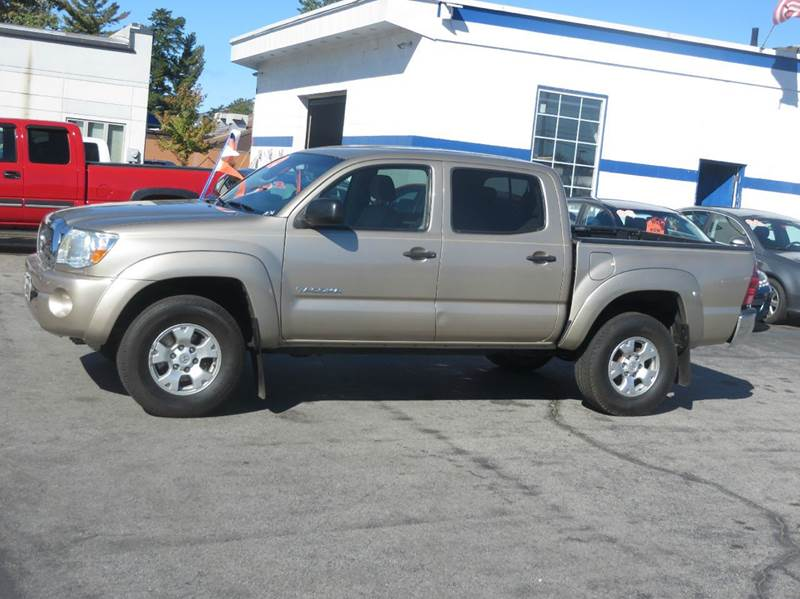 2008 toyota tacoma 4x2 prerunner v6 4dr double cab 5 0 ft sb 5a in concord nh price auto sales. Black Bedroom Furniture Sets. Home Design Ideas