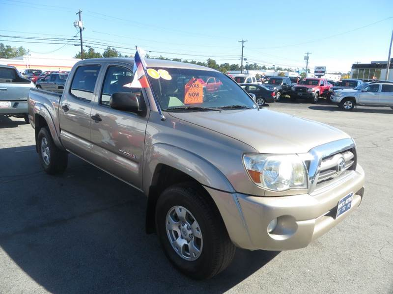 2008 Toyota Tacoma 4x2 PreRunner V6 4dr Double Cab 5.0 ft. SB 5A - Concord NH
