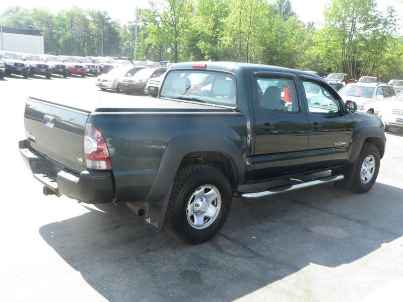 2009 toyota tacoma 4x4 v6 4dr double cab 5 0 ft sb 5a in concord nh price auto sales. Black Bedroom Furniture Sets. Home Design Ideas