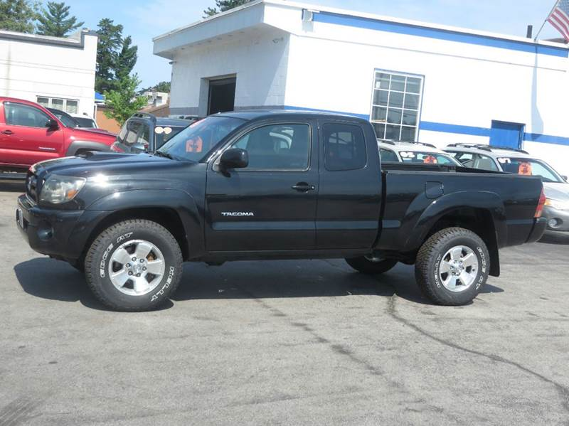 2005 toyota tacoma 4dr access cab v6 4wd sb in concord nh. Black Bedroom Furniture Sets. Home Design Ideas