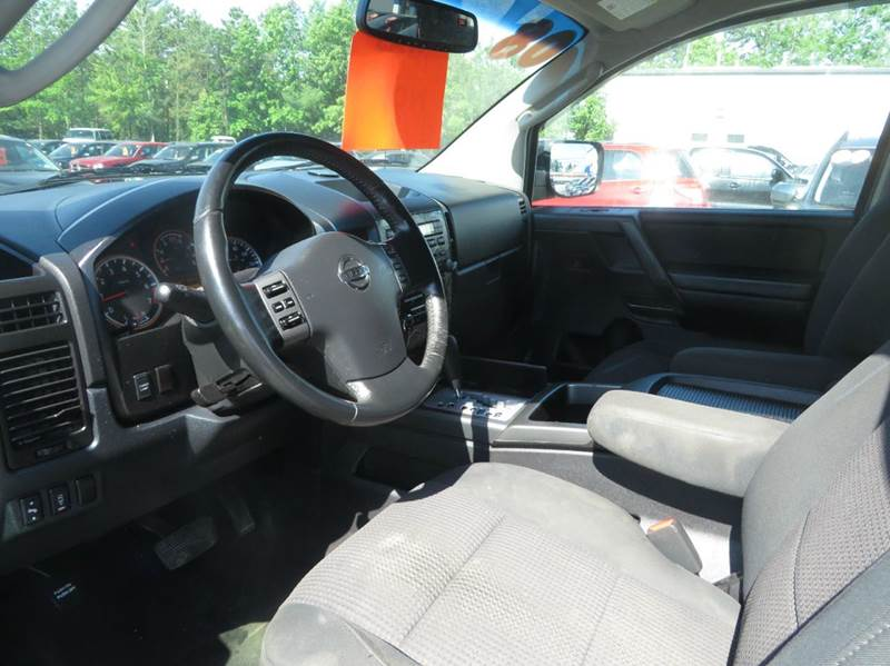 2008 Nissan Titan 4x4 SE 4dr Crew Cab SWB - Concord NH
