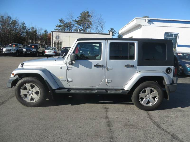 2008 Jeep Wrangler Unlimited 4x4 Sahara 4dr SUV w/Side Airbag Package - Concord NH