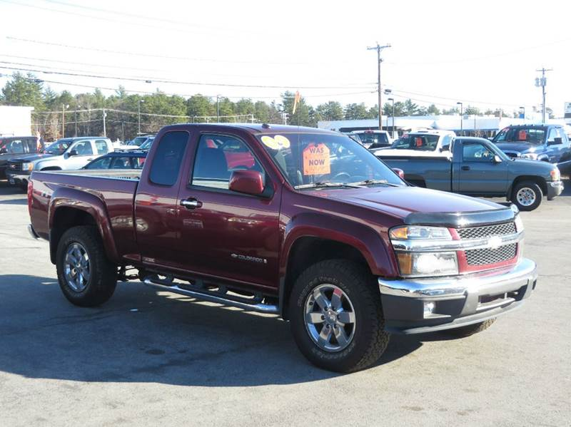 2009 chevrolet colorado 4x2 work truck extended cab 4dr in concord nh price auto sales. Black Bedroom Furniture Sets. Home Design Ideas