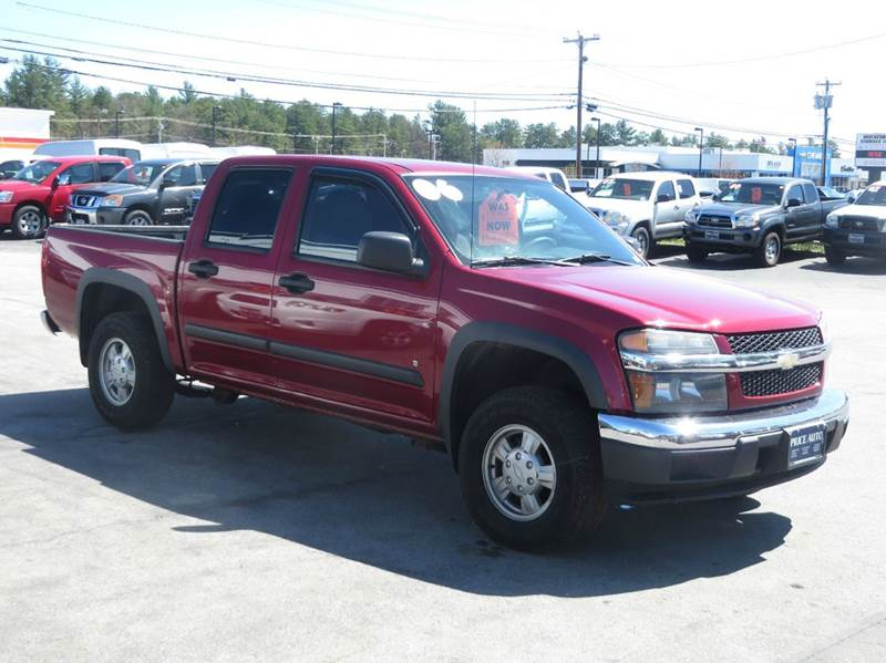 2006 chevrolet colorado lt z71 crew cab 4wd in concord nh. Black Bedroom Furniture Sets. Home Design Ideas