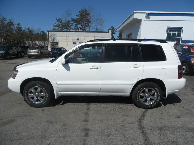 2007 toyota highlander awd 4dr suv v6 w 3rd row in concord nh price auto sales. Black Bedroom Furniture Sets. Home Design Ideas