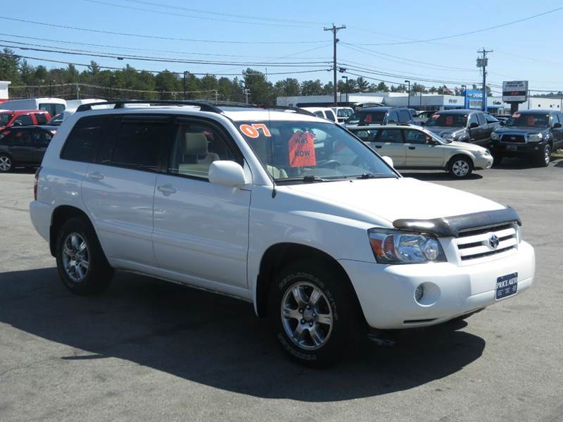 2007 toyota highlander awd 4dr suv v6 w 3rd row in concord. Black Bedroom Furniture Sets. Home Design Ideas