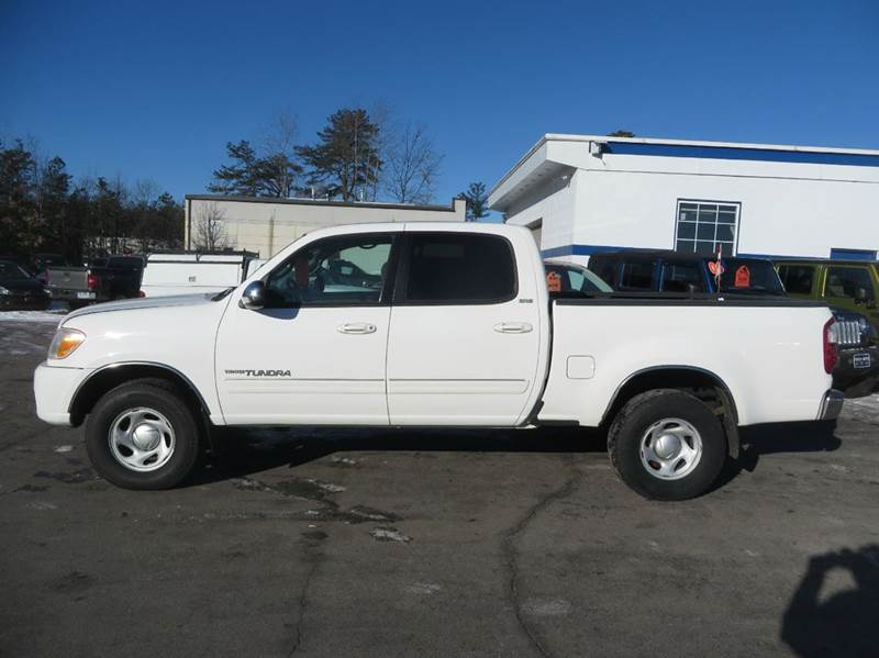 2006 toyota tundra sr5 double cab 4wd in concord nh. Black Bedroom Furniture Sets. Home Design Ideas