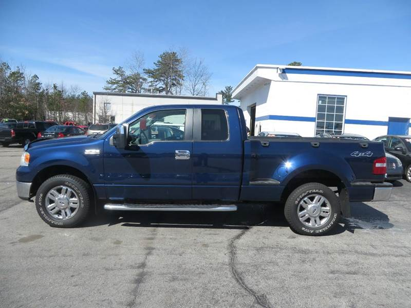 2008 Ford F-150 4x4 XLT 4dr SuperCab Flareside 6.5 ft. SB - Concord NH