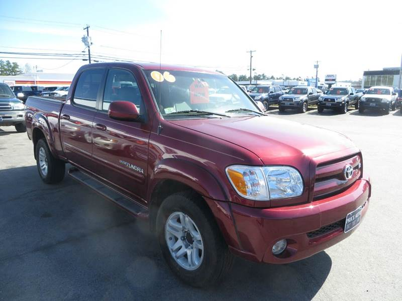 2006 toyota tundra limited 4dr double cab 4wd sb in concord nh price auto sales. Black Bedroom Furniture Sets. Home Design Ideas
