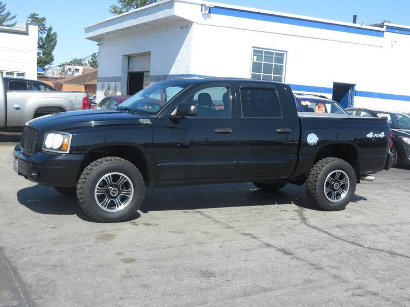 2005 dodge dakota 4dr quad cab slt 4wd sb in concord nh price auto sales. Black Bedroom Furniture Sets. Home Design Ideas