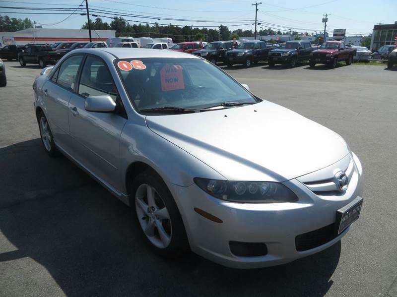 2008 mazda mazda6 i touring 4dr sedan in concord nh. Black Bedroom Furniture Sets. Home Design Ideas