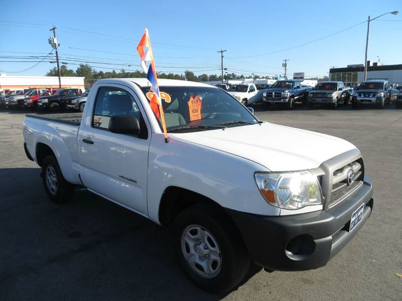 2009 toyota tacoma regular cab 2wd in concord nh price auto sales. Black Bedroom Furniture Sets. Home Design Ideas