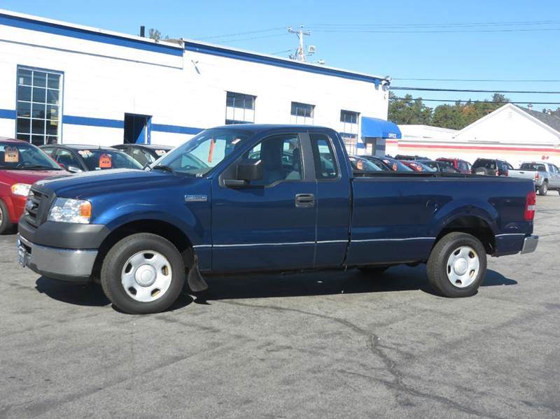 2007 ford f 150 xl regular cab 2wd in concord nh price. Black Bedroom Furniture Sets. Home Design Ideas