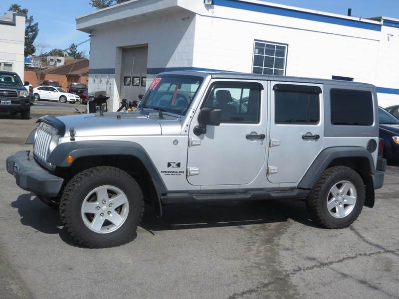 2007 Jeep Wrangler Unlimited 4x4 X 4dr SUV   Concord NH