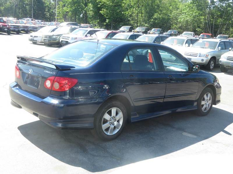 2005 Toyota Corolla S 4dr Sedan - Concord NH