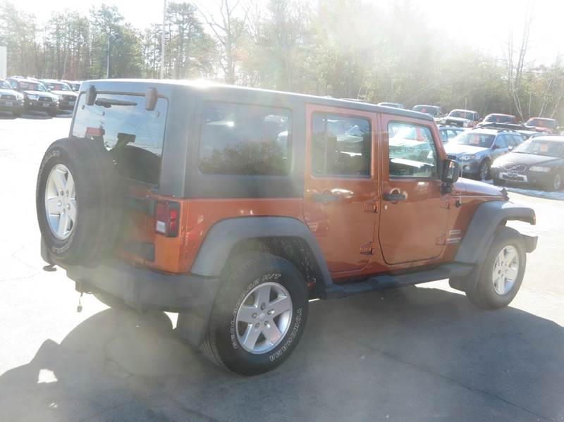 2011 Jeep Wrangler Unlimited 4x4 Sport 4dr SUV - Concord NH