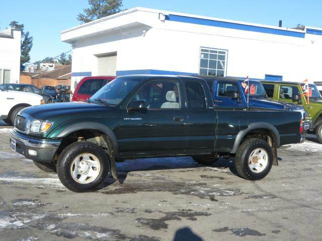 2003 toyota tacoma xtracab 4wd in concord nh price auto. Black Bedroom Furniture Sets. Home Design Ideas