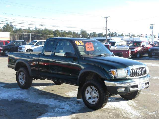 2003 toyota tacoma xtracab 4wd in concord nh price auto sales. Black Bedroom Furniture Sets. Home Design Ideas