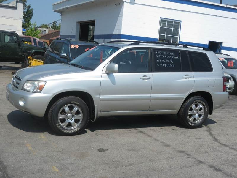 2006 toyota highlander awd 4dr suv w v6 in concord nh price auto sales. Black Bedroom Furniture Sets. Home Design Ideas