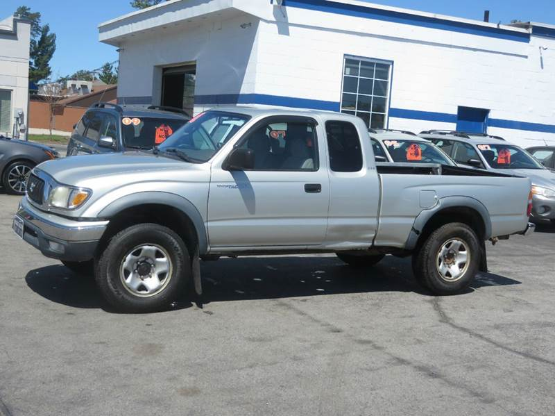 2001 toyota tacoma 2dr xtracab v6 4wd sb in concord nh. Black Bedroom Furniture Sets. Home Design Ideas