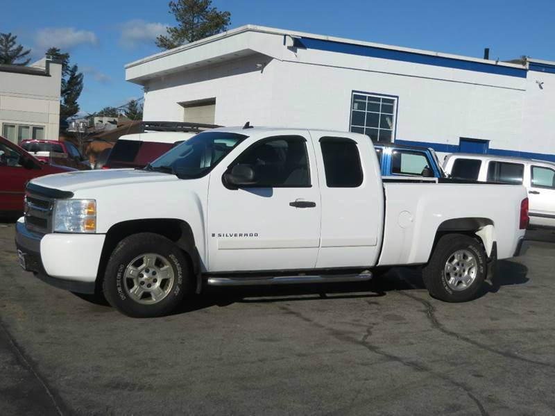 2008 chevrolet silverado 1500 4wd lt1 4dr extended cab 6 5 ft sb in concord nh price auto sales. Black Bedroom Furniture Sets. Home Design Ideas
