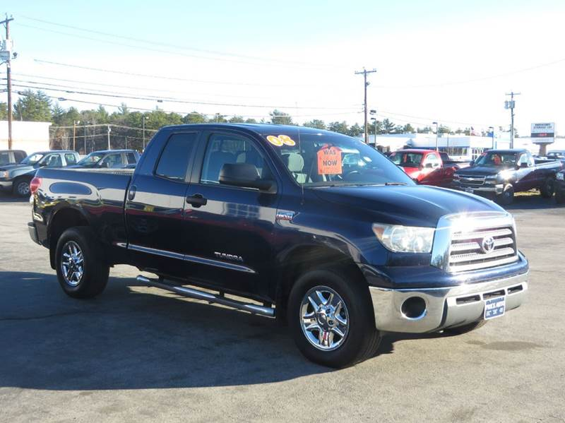 2008 toyota tundra base double cab 5 7l long bed 4wd in. Black Bedroom Furniture Sets. Home Design Ideas