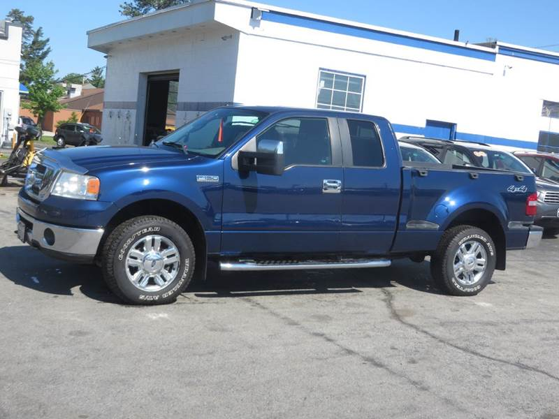 2008 ford f 150 4x4 xlt 4dr supercab flareside 6 5 ft sb. Black Bedroom Furniture Sets. Home Design Ideas