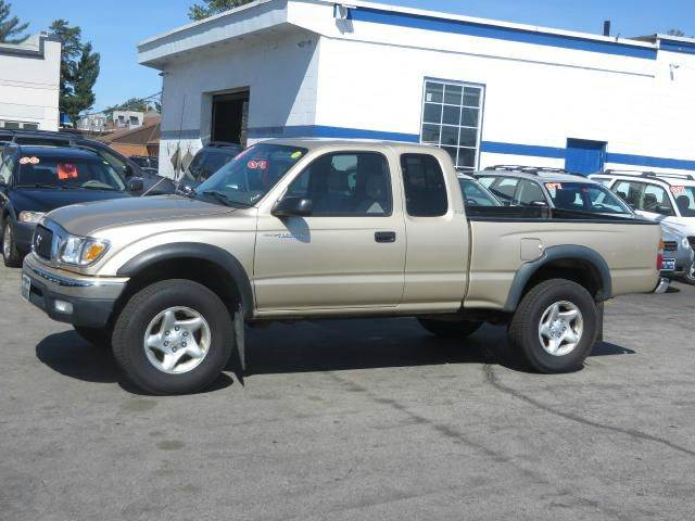 2001 toyota tacoma 2dr xtracab 4wd sb in concord nh. Black Bedroom Furniture Sets. Home Design Ideas