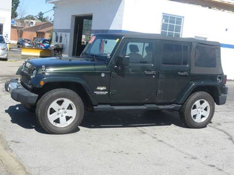 2010 Jeep Wrangler Unlimited for sale in Concord, NH