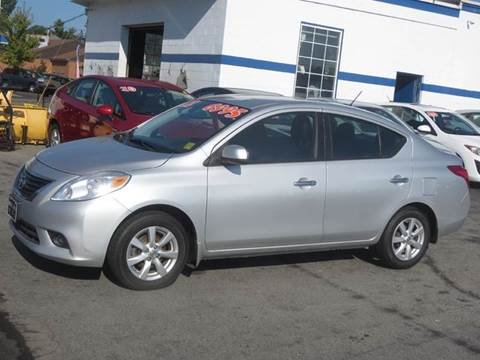 2012 Nissan Versa for sale in Concord, NH