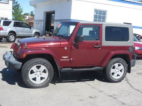 2008 Jeep Wrangler for sale in Concord, NH