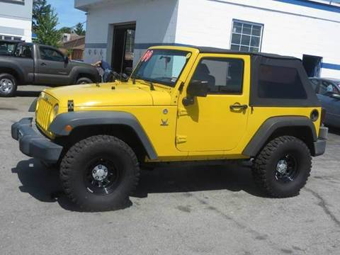 2009 Jeep Wrangler for sale in Concord, NH