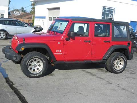 2009 Jeep Wrangler Unlimited for sale in Concord, NH