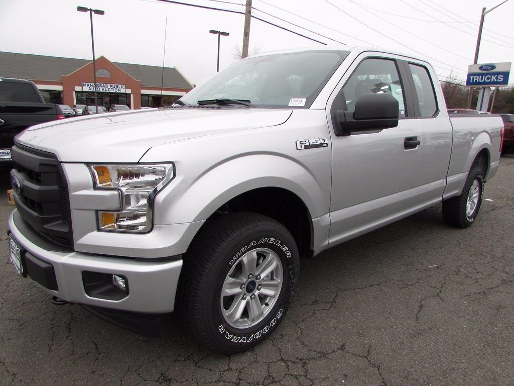 2017 ford f 150 4x4 xl 4dr supercab 6 5 ft sb in manassas va battlefield ford. Black Bedroom Furniture Sets. Home Design Ideas