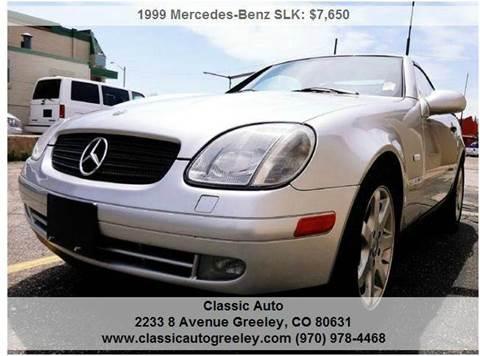1999 Mercedes-Benz SLK for sale in Greeley, CO