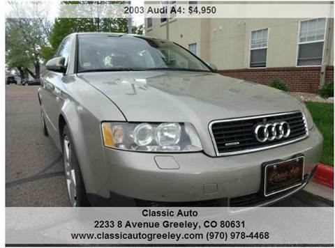 2003 audi a4 for sale for Wyoming valley motors audi