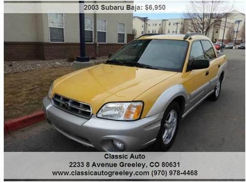 2003 Subaru Baja for sale in Greeley, CO
