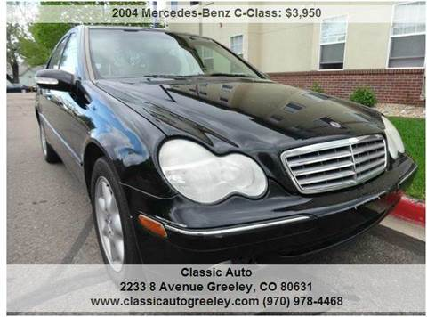 2004 Mercedes-Benz C-Class for sale in Greeley, CO
