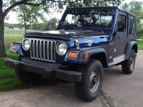 2002 Jeep Wrangler for sale in Greeley, CO